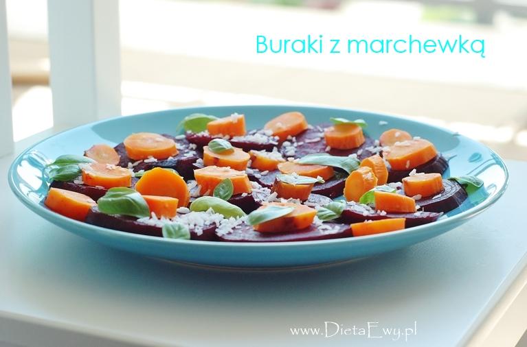 Buraki z marchewką